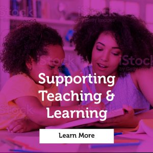 Click this image to learn more about our Supporting Teaching and Kearning Courses