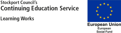 Stockport Council's Continuing Education Service Logo